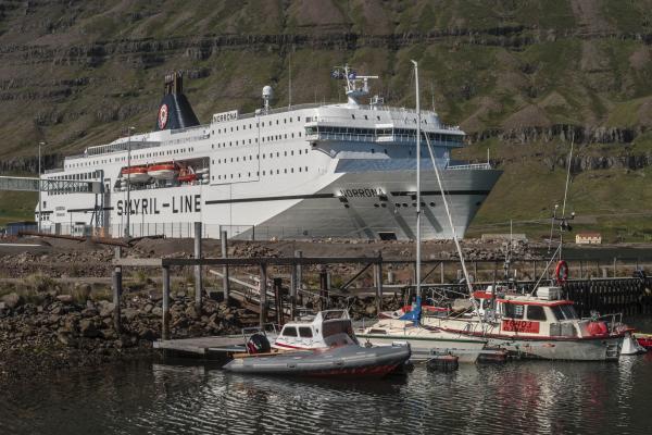 Norræna, Seyðisfjörður