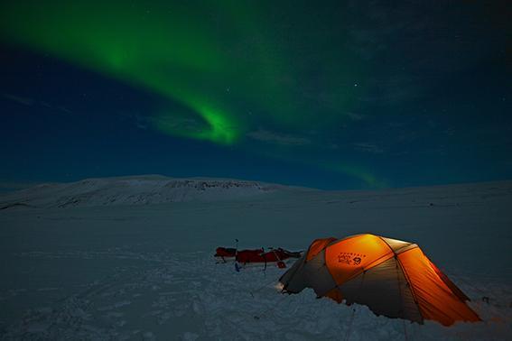 Arctic adventures, langjökull, má aðeins nota með arctic frétt!