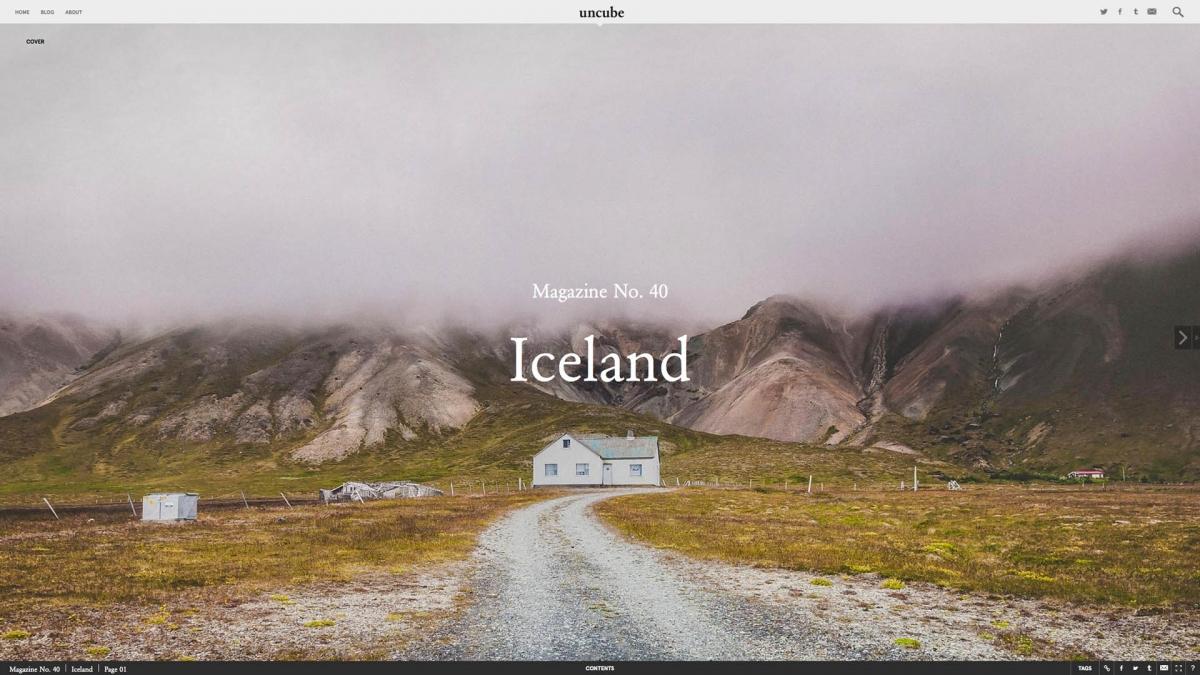 Modern Architecture Magazine design magazine features icelandic architecture, from old turf