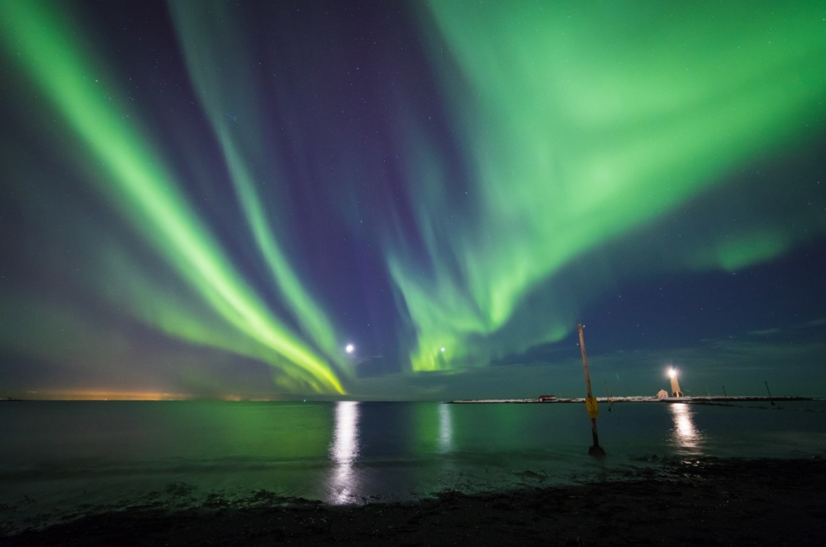 The Northern Lights Will Be Seen Over Lots of the US Tonight