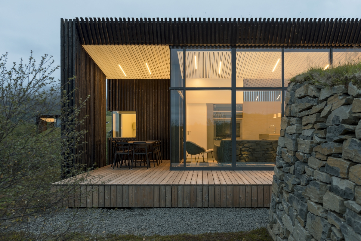 These Sleek And Modern Vacation Cottages In South Iceland
