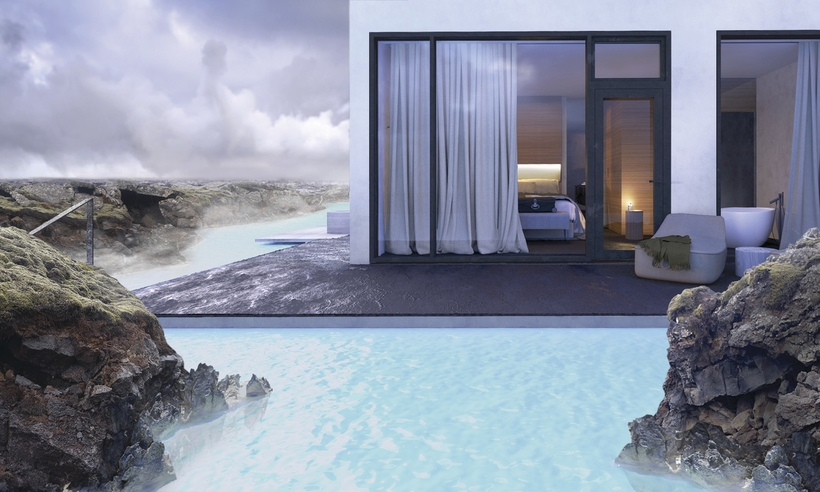 Blue lagoon to open new luxury hotel this fall hiring 165 for Blue lagoon iceland accommodation