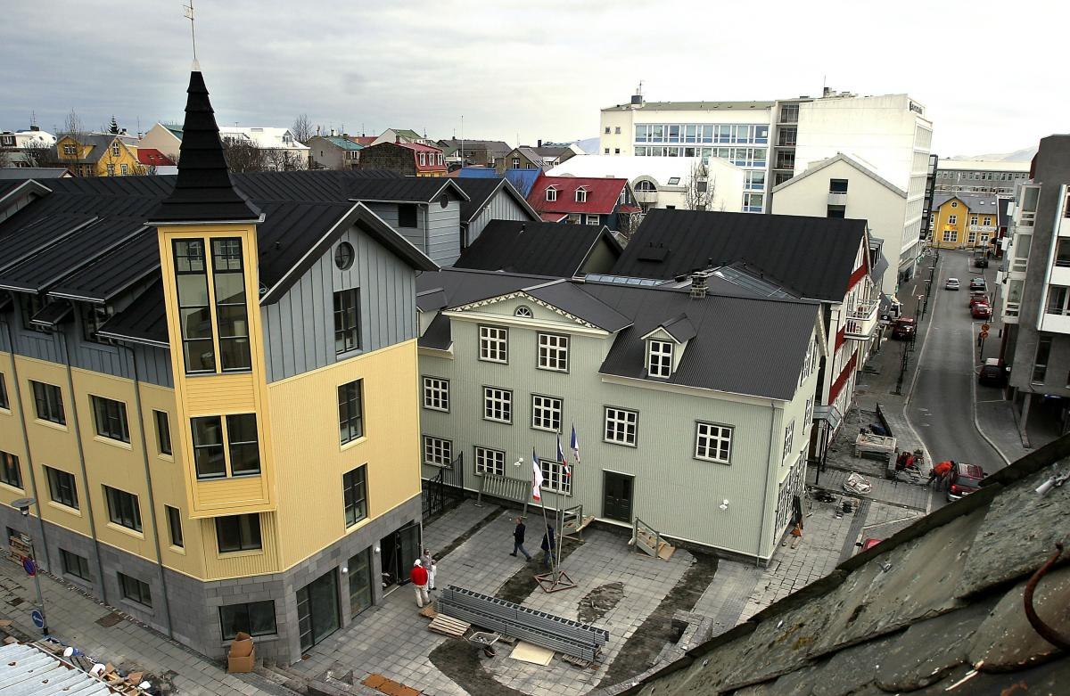 Construction of new hotels in Reykjavík continues apace: 50% more