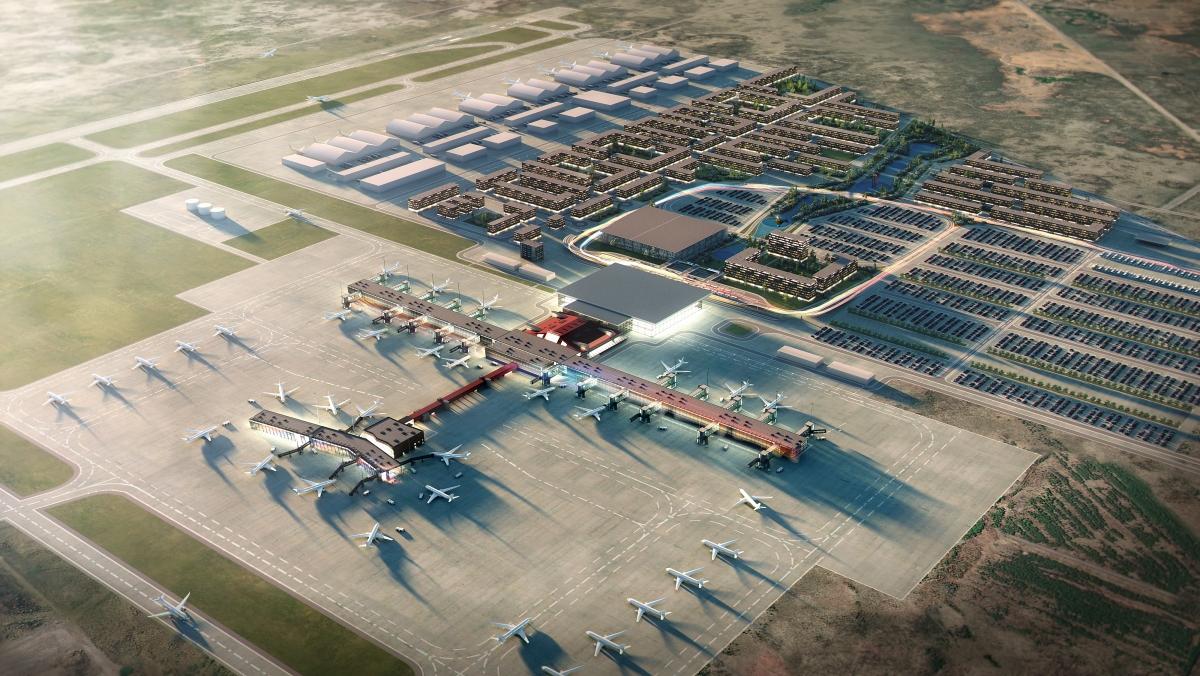 Nordens största flygplatser - Keflavík – Reykjavík flygplats, Island