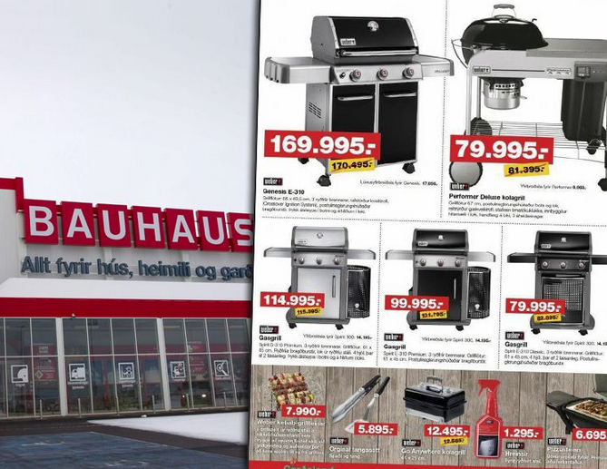 store criticized for laughable discounts on grills icelandmag. Black Bedroom Furniture Sets. Home Design Ideas