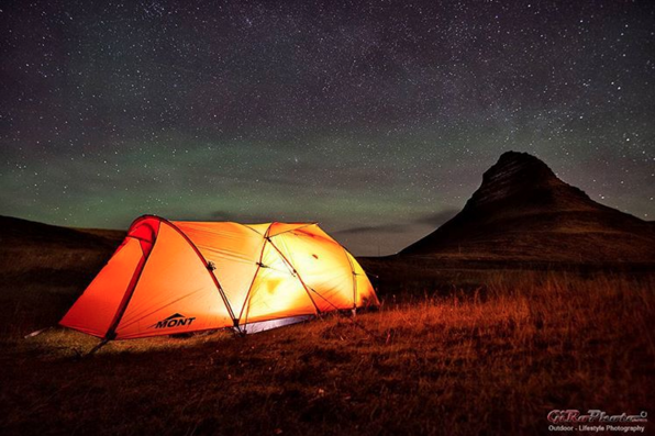 November c&ing The two Aussies lucked out and spent a glorius starlit night in their tent close to Mount Kirkjufell. Photo/Gilbert Romane & Two brave Aussies are doing a November trip around Iceland and ...