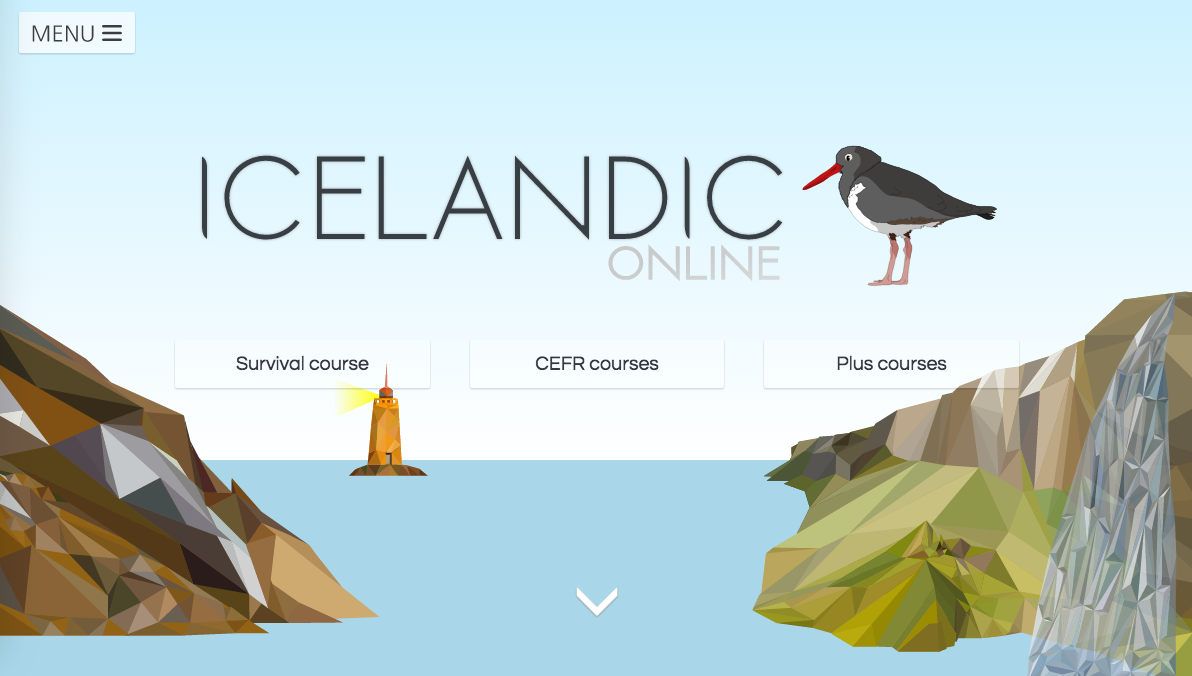 Free online icelandic course for absolute beginners for Tattoo classes online free