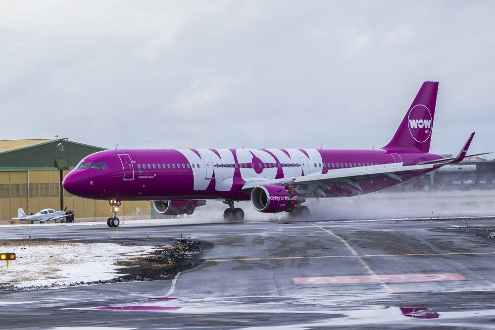 Wow Air The New Route Will Be Serviced By A Brand Airbus A321neo Jet Photo Vilhelm