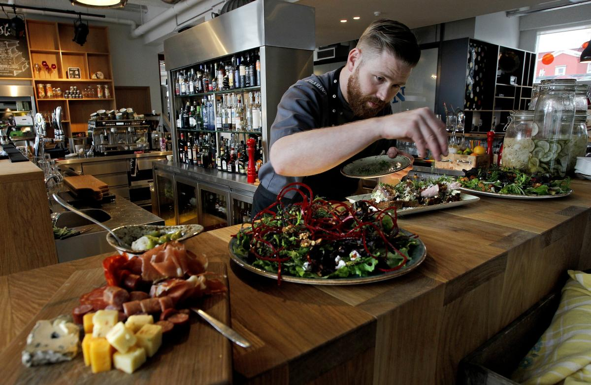 head chef at the popular slippbar restaurant located in hotel marina shares his favourite christmas recipes with iceland magazine photopjetur - Iceland Christmas Traditions