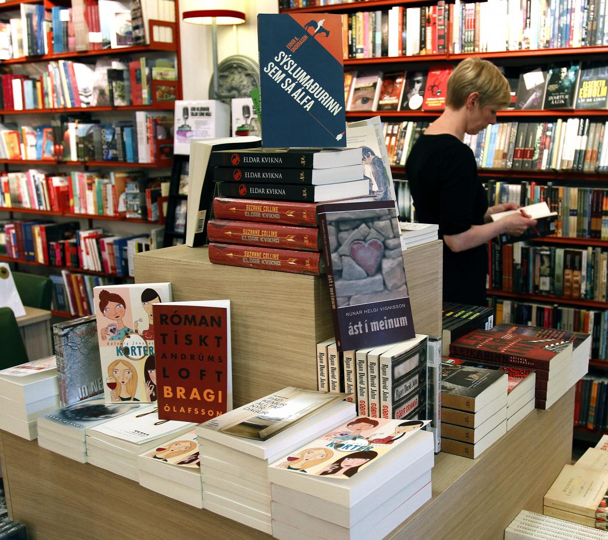 Icelandic Books Despite The Fact That Icelanders Are One Of Most Literate Nations In World Many Fear Link Provided By To 1000