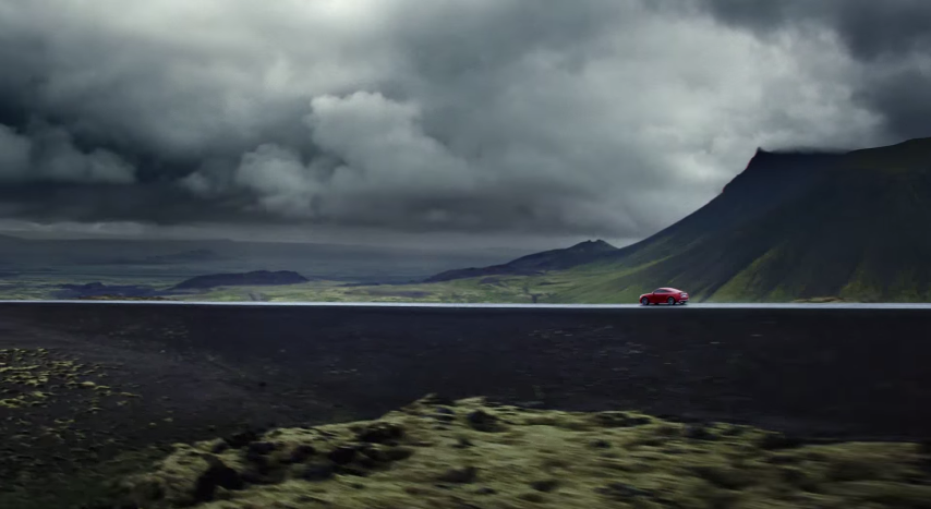 Audi Shoots New Advert In Iceland And Features Black Sands And Lava - Audi car commercial