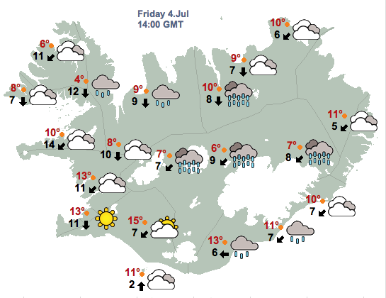 Image result for icelandic met office""