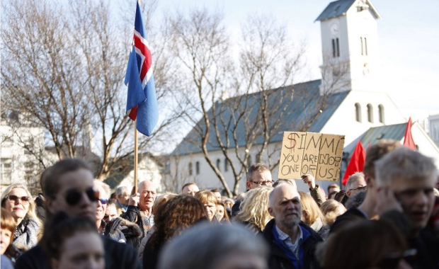 the history of political demonstration in iceland The 2016 icelandic anti-government protests were a series of protests against the  icelandic  9,000 and 23,000 people by different sources, although was  acknowledged to be one of the biggest political demonstrations in iceland's  history.