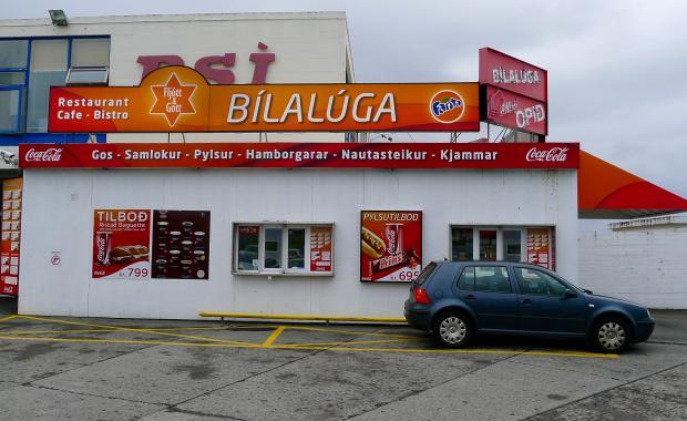 Hot Dog Truck Reykjavik